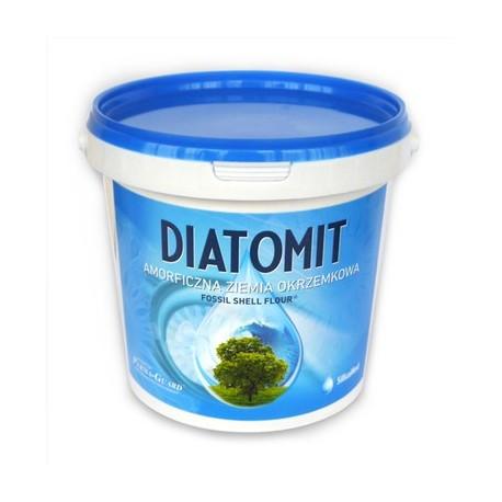 Ziemia Okrzemkowa Amorficzna Diatomit 1kg Wiaderko