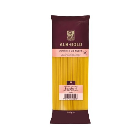 Makaron Spaghetti Bezglutenowy BIO Kukurydziano- Ryżowy 500g