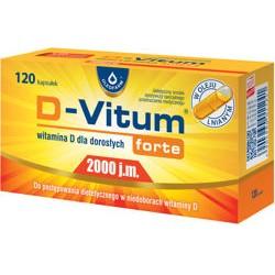 D-Vitum Forte® 2000 j.m. 120kaps. Oleofarm