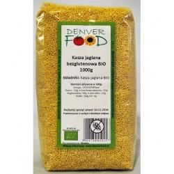 Bezglutenowa Kasza Jaglana BIO 1kg Denver Foods