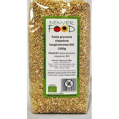 Bezglutenowa Kasza Gryczana BIO 1kg Denver Foods