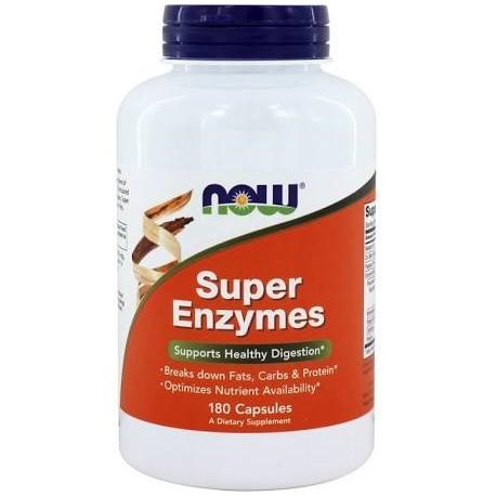 Enzymy Trawienne z Betainą HCL (Super Enzymes) 180kaps.