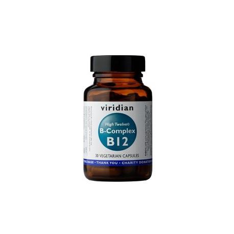 Witamina B12 + B-complex 30kaps. Viridian