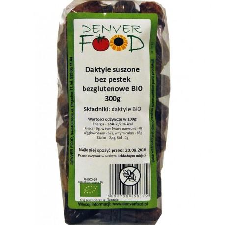 Daktyle BIO Bezglutenowe 300g Denver Foods