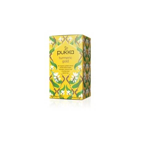 Herbata Turmeric Gold (Kurkuma)  20sasz. PUKKA