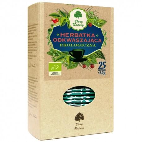 Herbata Odkwaszająca EKO  25 sasz. Dary Natury