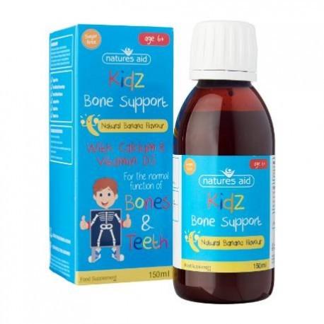 Kidz Bone Support / Wsparcie dla kości 150ml Nature's Aid
