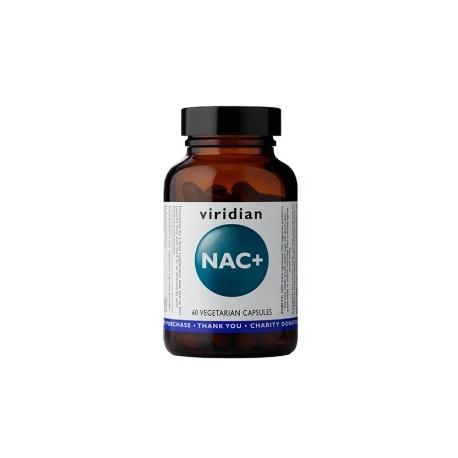 N- Acetylocysteina NAC+ 30kaps. Viridian