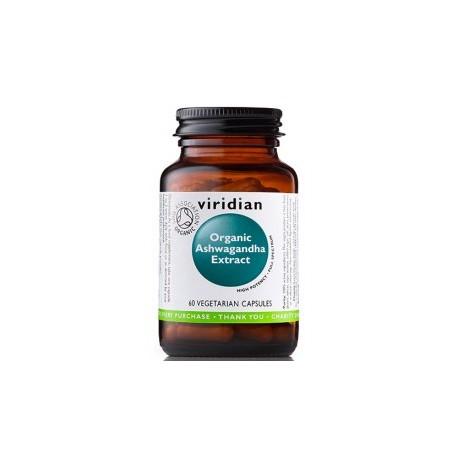 Organic Ashwagandha Extract 60vcaps. Viridian