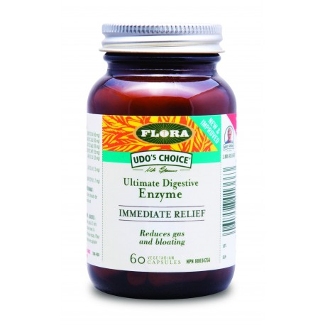 Enzymy trawienne Immediate Relief 60kaps. Udo's Choice