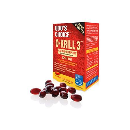 Olej z Kryla O- KRILL 3 60kaps. Udo's Choice