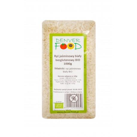 Ryż Jaśminowy Biały BIO Bezglutenowy 1kg Denver Foods