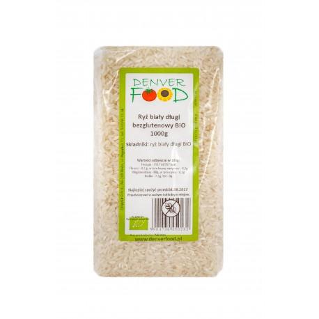 Bezglutenowy Biały Ryż Długi 1kg Denver Foods